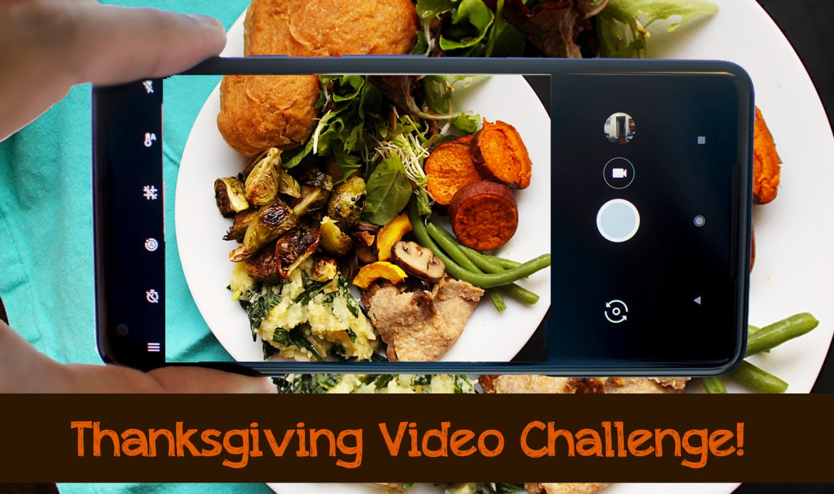 Thanksgiving video graphic