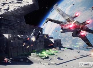 Star Wars Battlefront 2 Space Battle