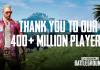 pubg 400 million fortnite