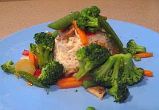 Coconut Rice for Veggie Stir-fry