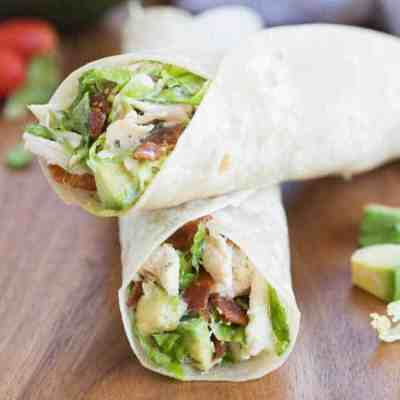 Chicken, Bacon, Avocado Wrap