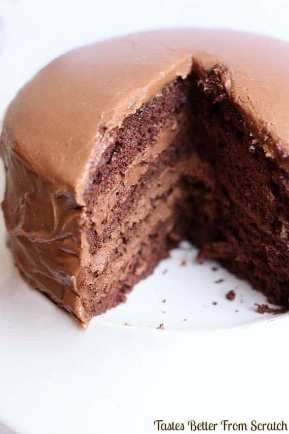 Mousse Easy Chocolate Cake