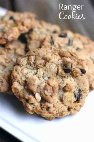 Ranger Cookies recipe from TastesBetterFromScratch.com