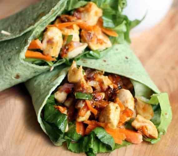 A Happy Picnic + Thai Chicken Crunch Wraps