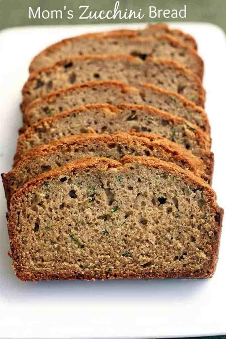 My favorite zucchini bread recipe!