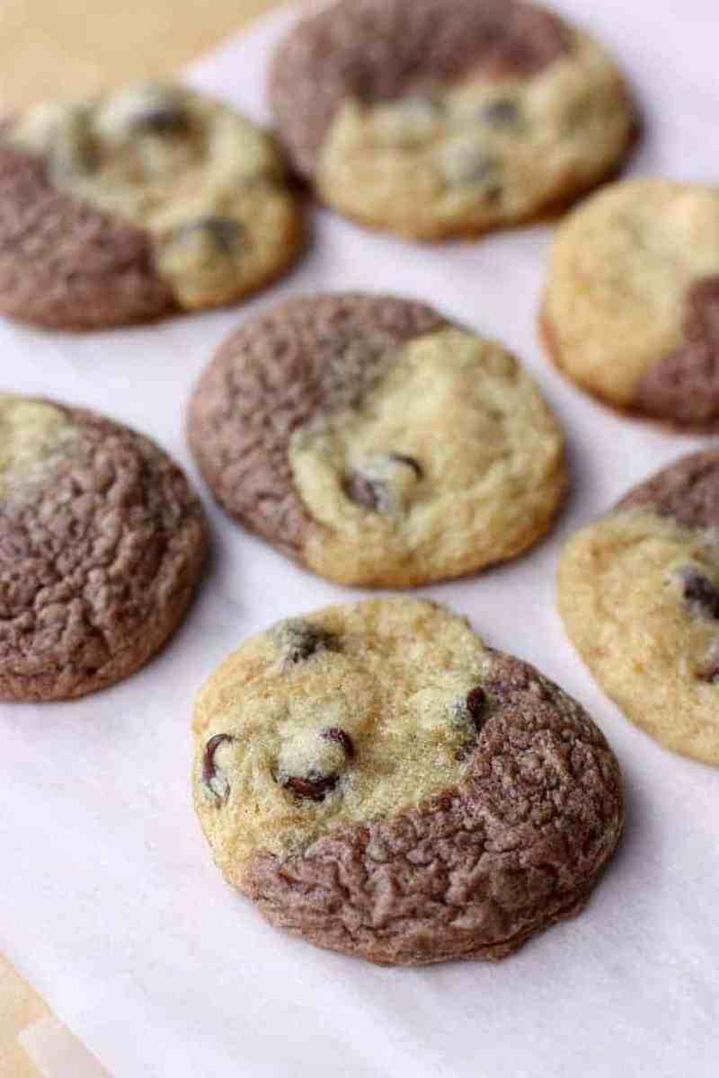 Chocolate Chip Brownie Cookies (Brookies) from TastesBetterFromScratch.com
