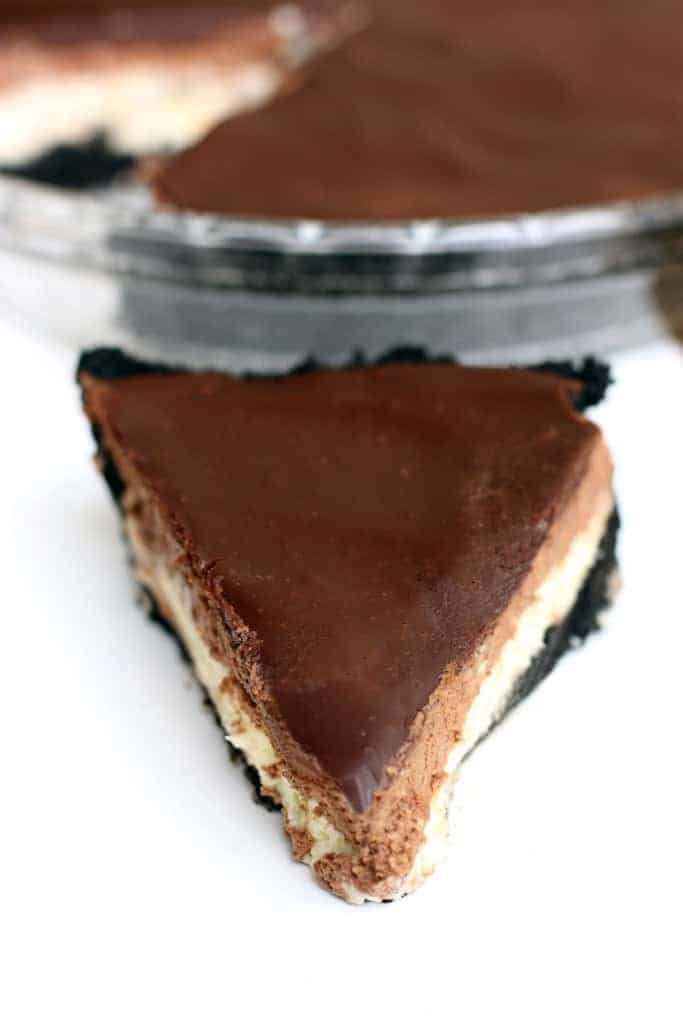 Chocolate Mousse Cheesecake   - Tastes Better From Scratch