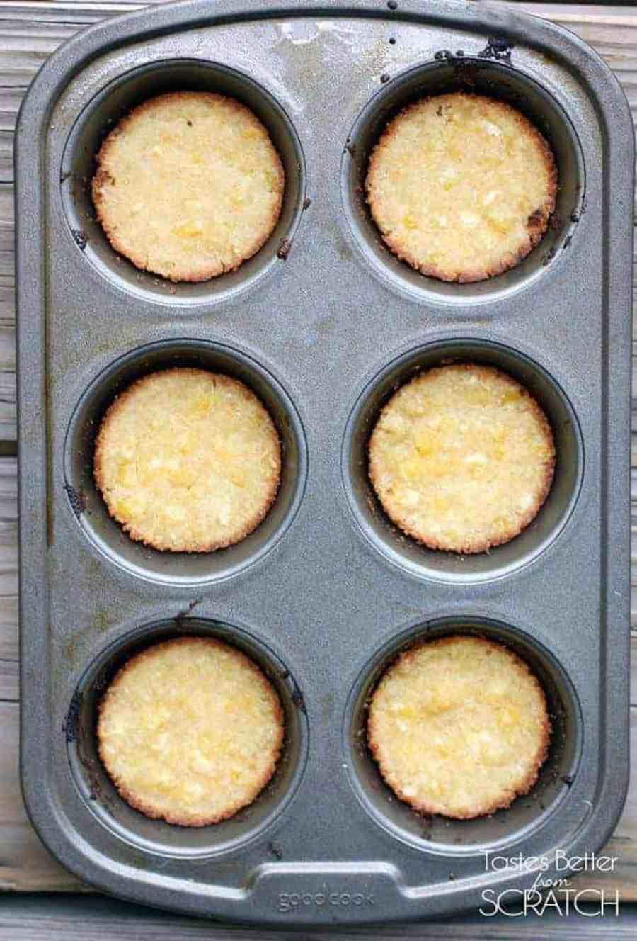 Sweet Corn Tamale Cakes on TastesBetterFromScratch.com