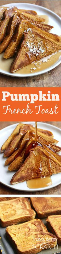 Pumpkin French Toast recipe from