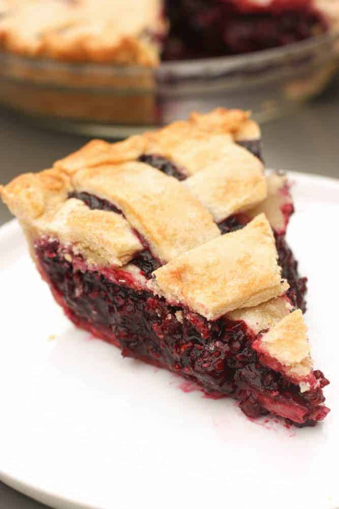 Triple Berry Pie | Tastes Better From Scratch