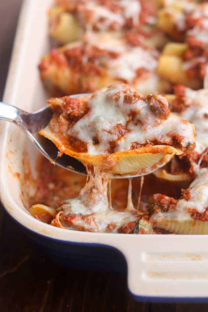 Lasagna Stuffed Shells | Tastes Better From Scratch