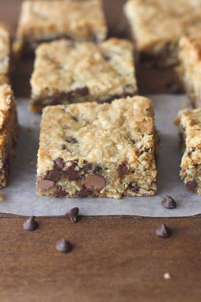 Oatmeal Chocolate Chip Cookie Bars | - Tastes Better From Scratch