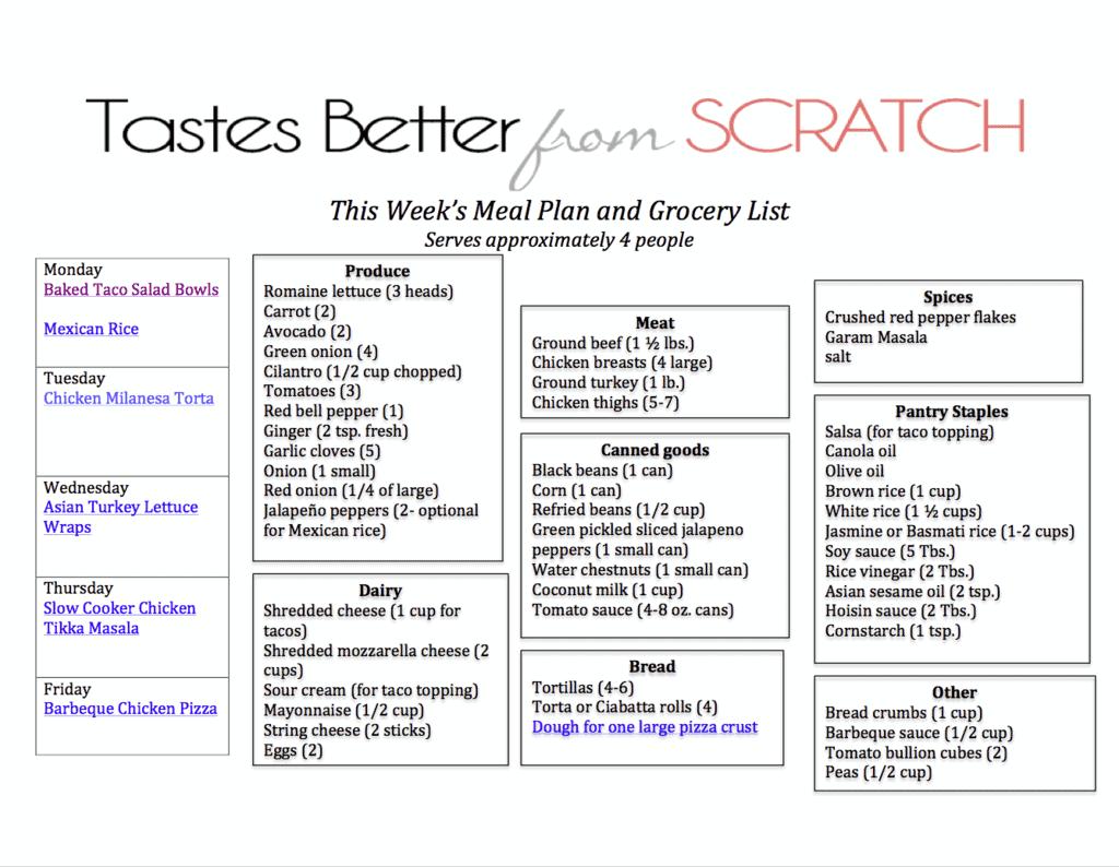 Preschool Worksheet Grocery List