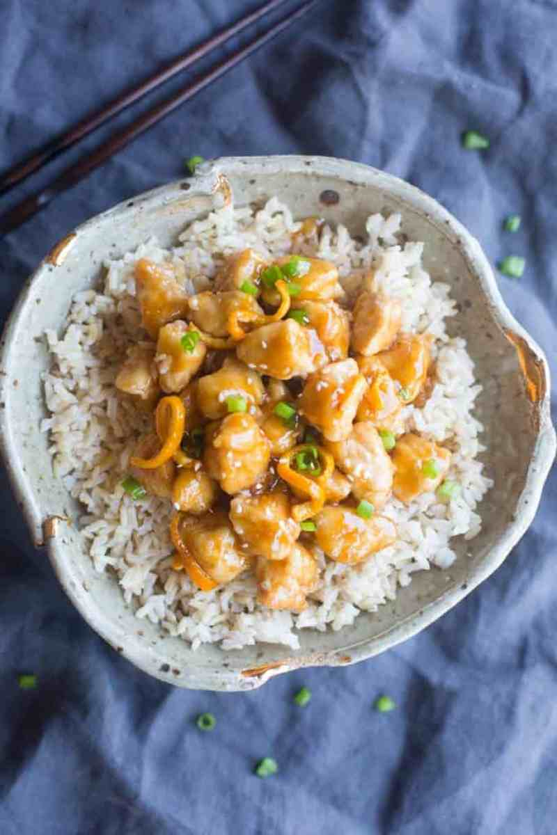 Better than take-out Orange Peel Chicken recipe that couldn't be easier to make from scratch! | Tastes Better From Scratch