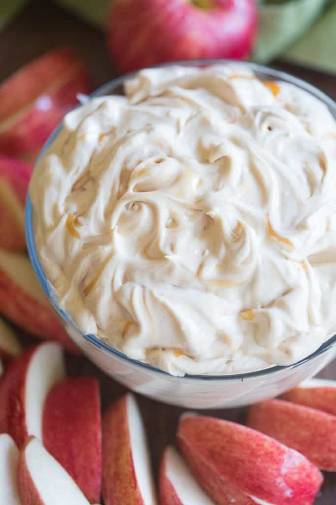 Whipped Caramel Apple Dip | Tastes Better From Scratch