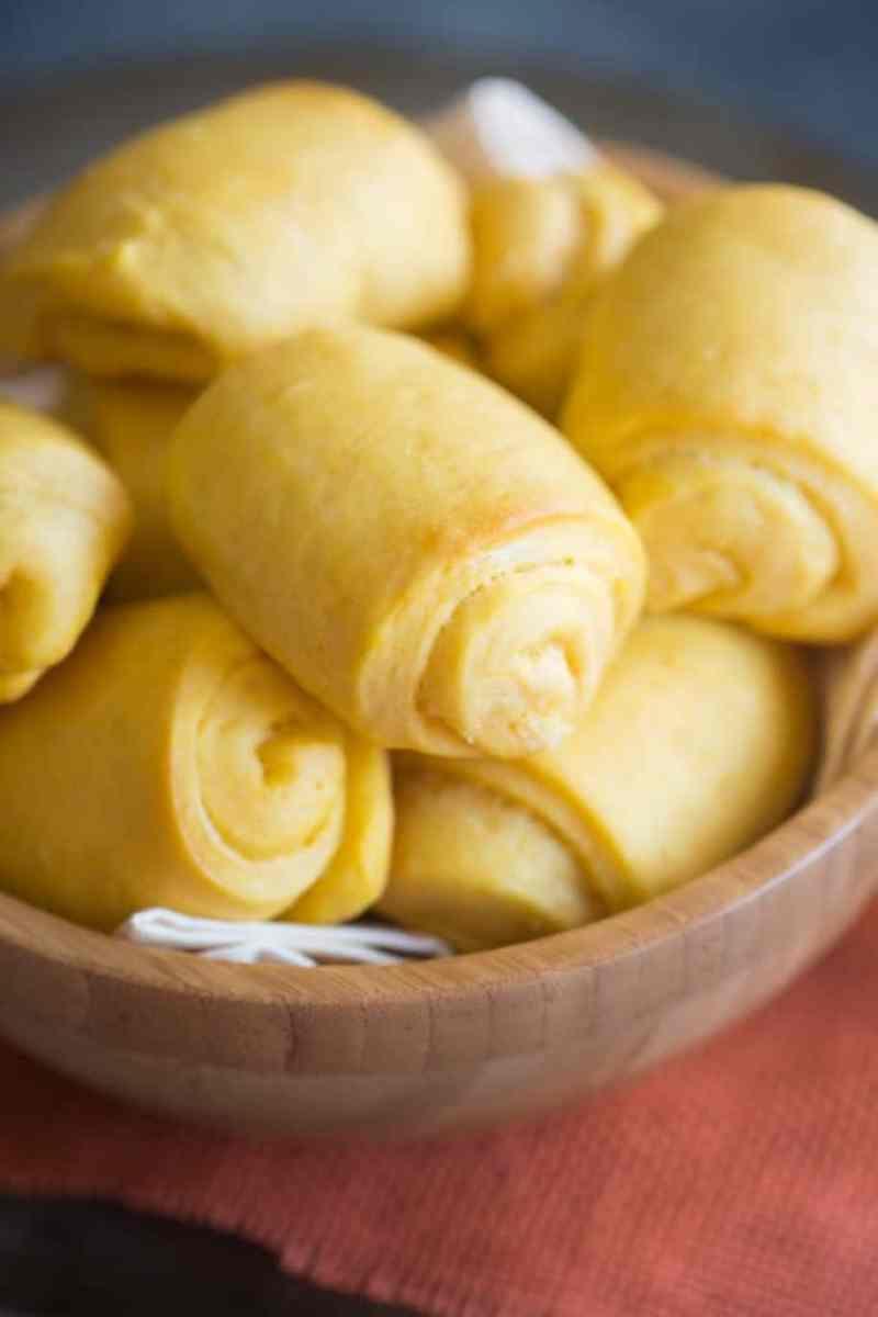Sweet Potato Rolls with Cinnamon Honey Butter | Tastes Better From Scratch