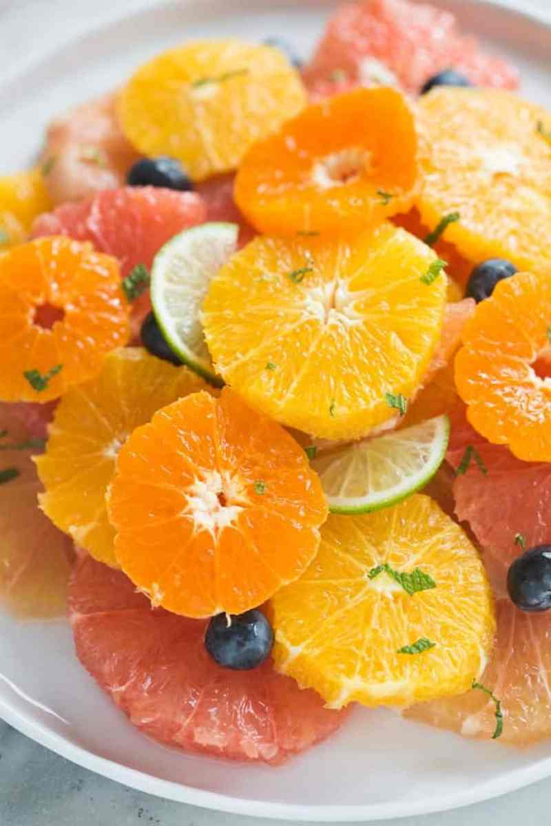 Citrus Fruit Salad is the best juicy, tart blend of winter fruits. | Tastes Better From Scratch