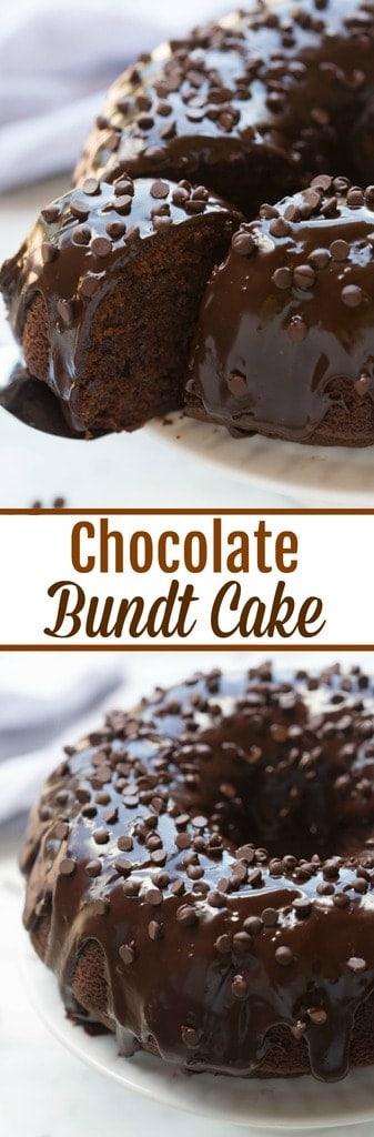 Chocolate Bundt Cake Tastes Better From Scratch