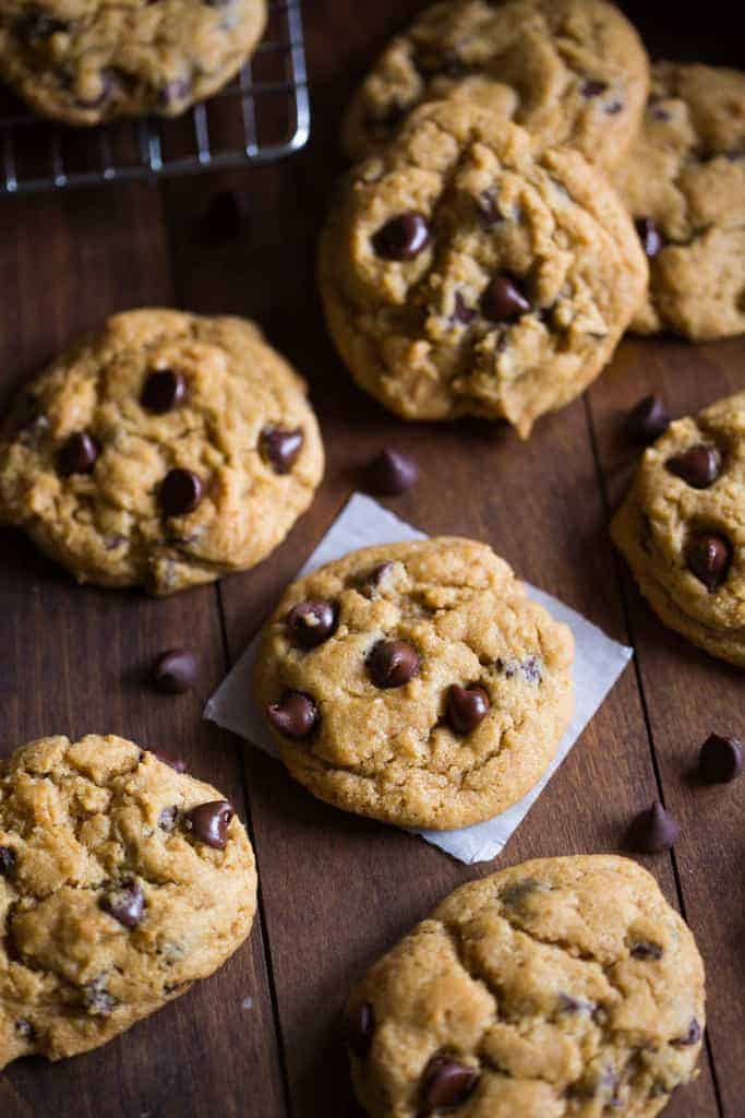 Chewy Pumpkin Chocolate Chip Cookies | - Tastes Better From Scratch