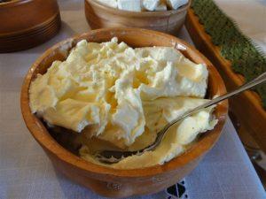kajmak famous serbian dairy salad