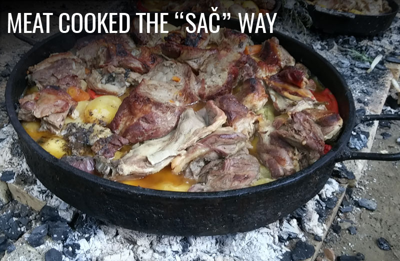 meat cooked the sac way