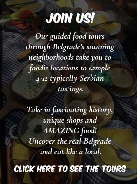 taste serbia food tours
