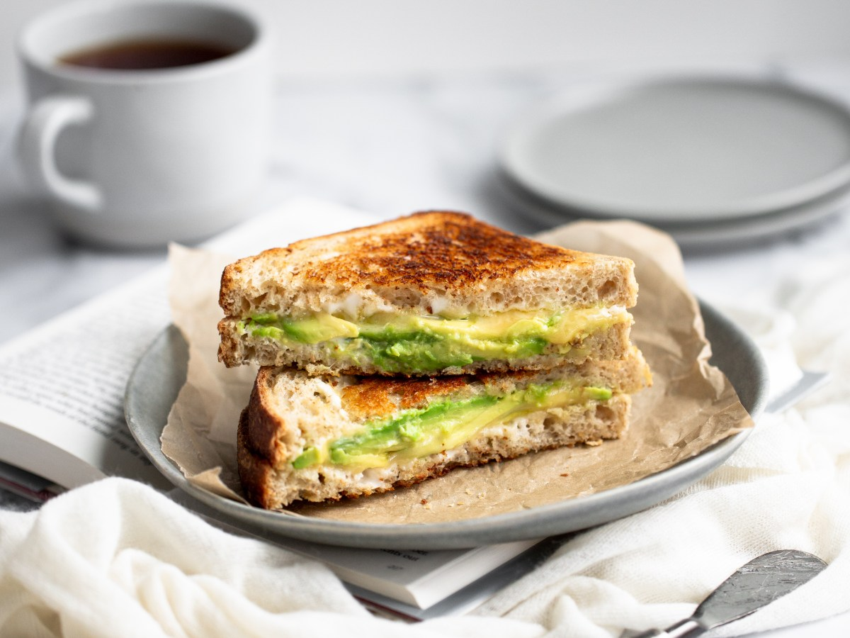 Boursin grilled cheese