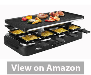 Artestia Raclette Party Grill with Two Full Size Top Plates Review