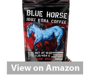 Best Kona Coffee - Blue Horse Kona Coffee Review