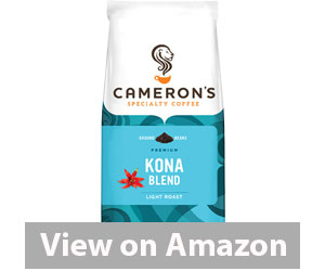 Best Kona Coffee - Cameron's Coffee Kona Blend Review