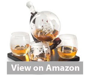 Best Whiskey Decanter - Royal Decanters Etched Globe Whiskey Decanter Gift Set Review