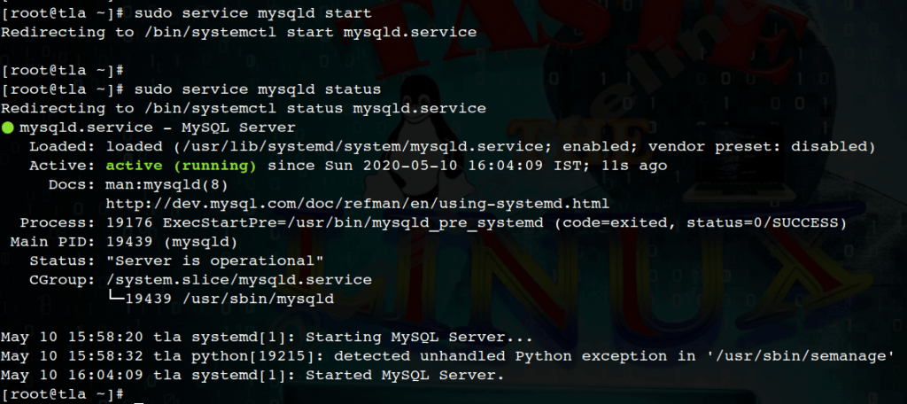 """We will learn about """"How to install MySQL 8 on CentOS 8 Linux"""", we will look at the installation for MySQL 8 step by step in CentOS 8."""