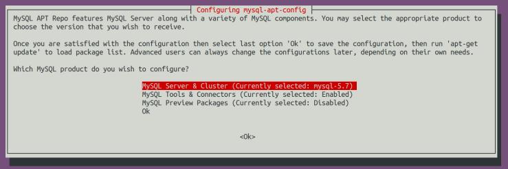 Upgrade MySQL Server from 5.7 to 8 Ubuntu 18.04.