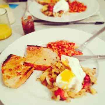 Trove breakfast