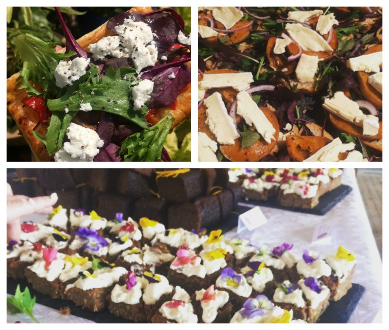 colourful corporate catering