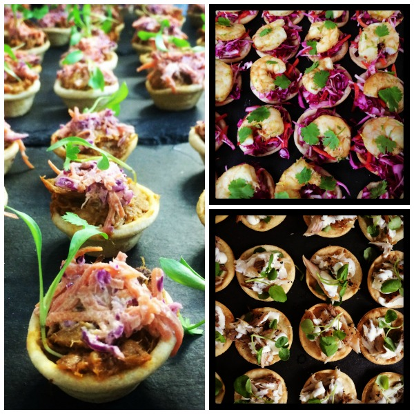 Canape Tart Selection
