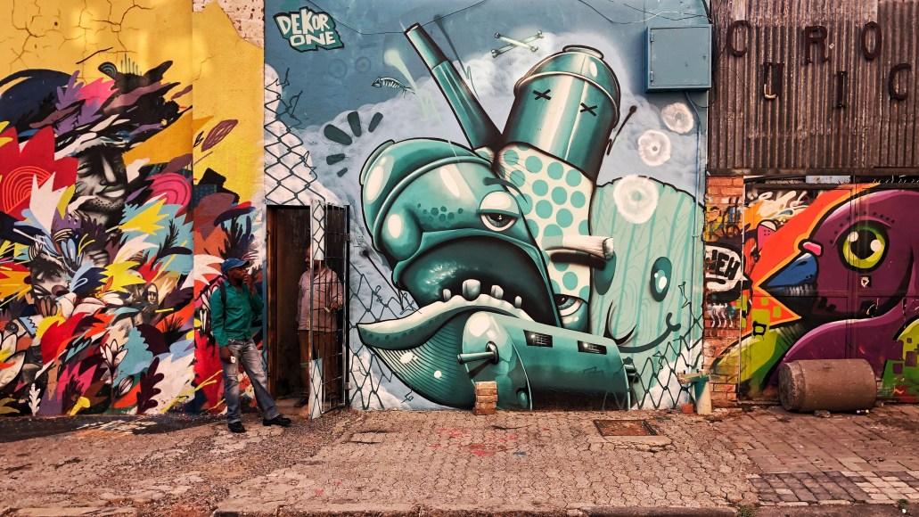 Street art i Maboneng