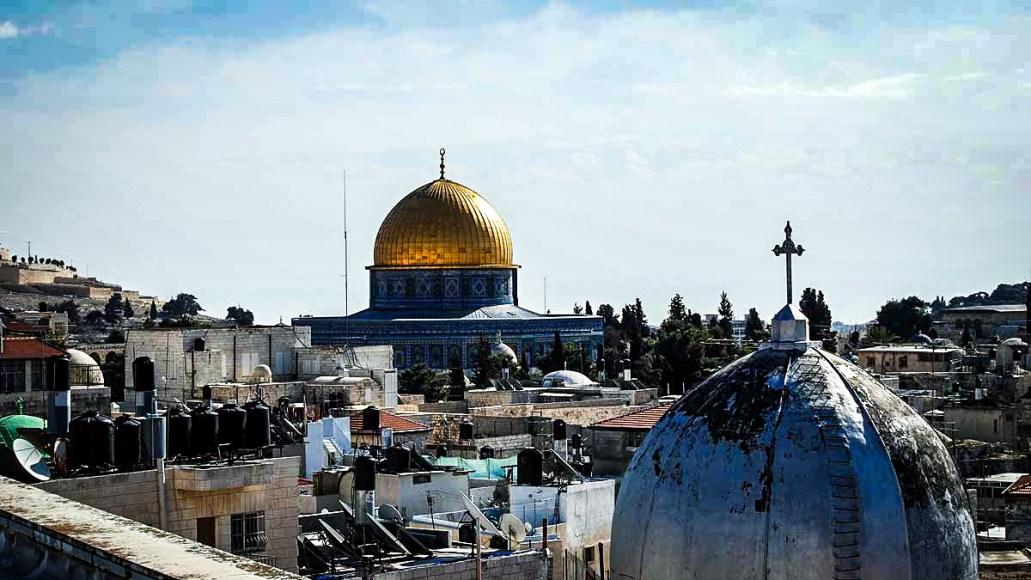 Udsigten fra Den Østrigske Mission, Jerusalem