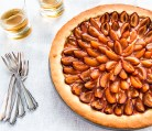 Plum Wine Tart
