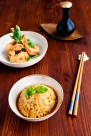 Thai Curry Risotto with Tempura Prawn
