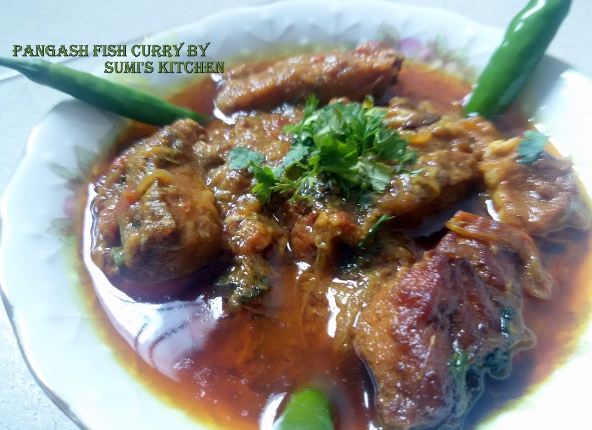 Pangash fish curry(পাংগাস মাছের কারি)