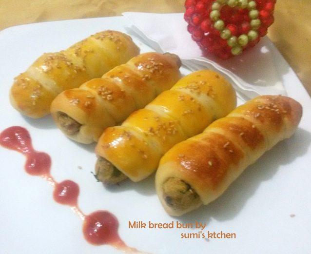 Milk bread bun