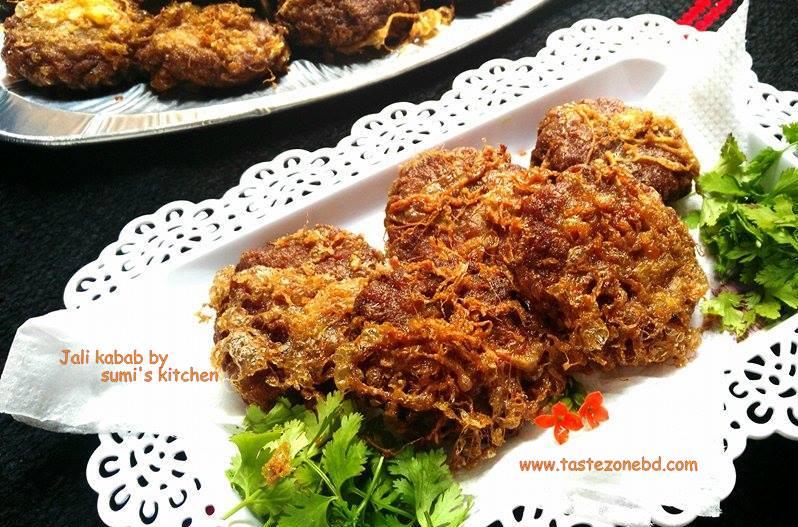 Jali kabab(জালি কাবাব)