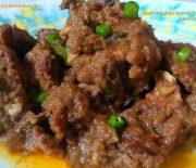 Beef mughlai korma