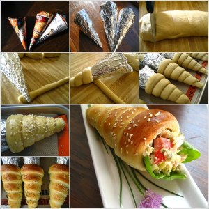 DIY-bread-cone