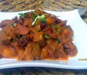 Beef/mutton liver vuna