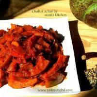 Sweet&sour Elephant apple(chaltar achar)