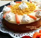 Carrot cake (with cheese frosting)