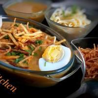 বার্মিজ খাওসে(khao suey)