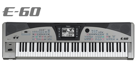 Roland E60 - Arranger workstation